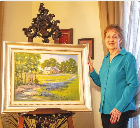 Larimore's passion for art still strong after 41 years
