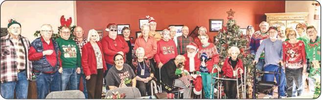Sr. Cub Center celebrates Christmas with Santa