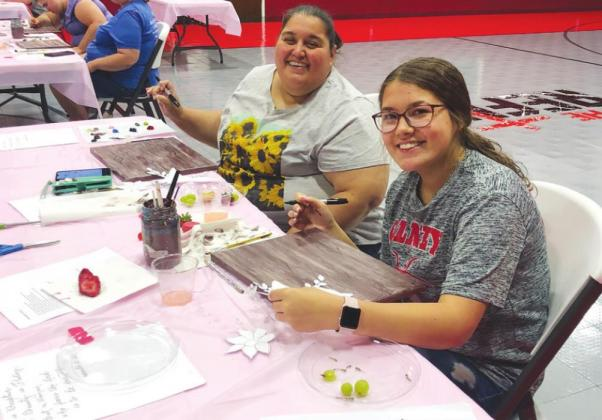 Refuge hosts Painting Class