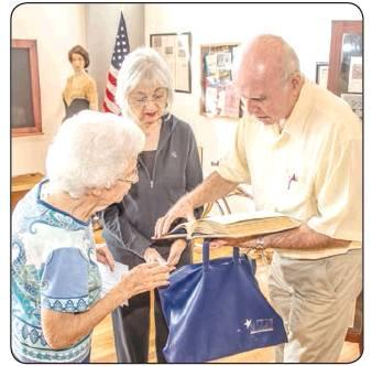 Young County Historical Commission hosted meeting at Olney Heritage Museum