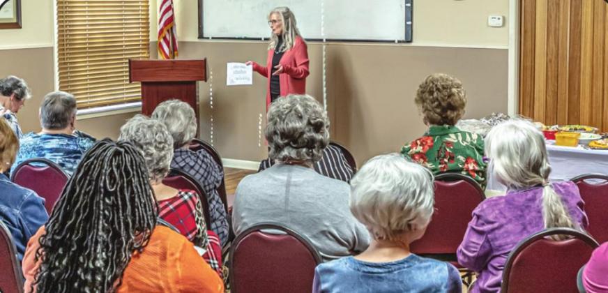 Olney's Amity Club hosts meeting, March 5