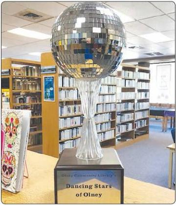 "Olney Community Library is hosting ""Dancing Stars of Olney"" on Nov. 1"