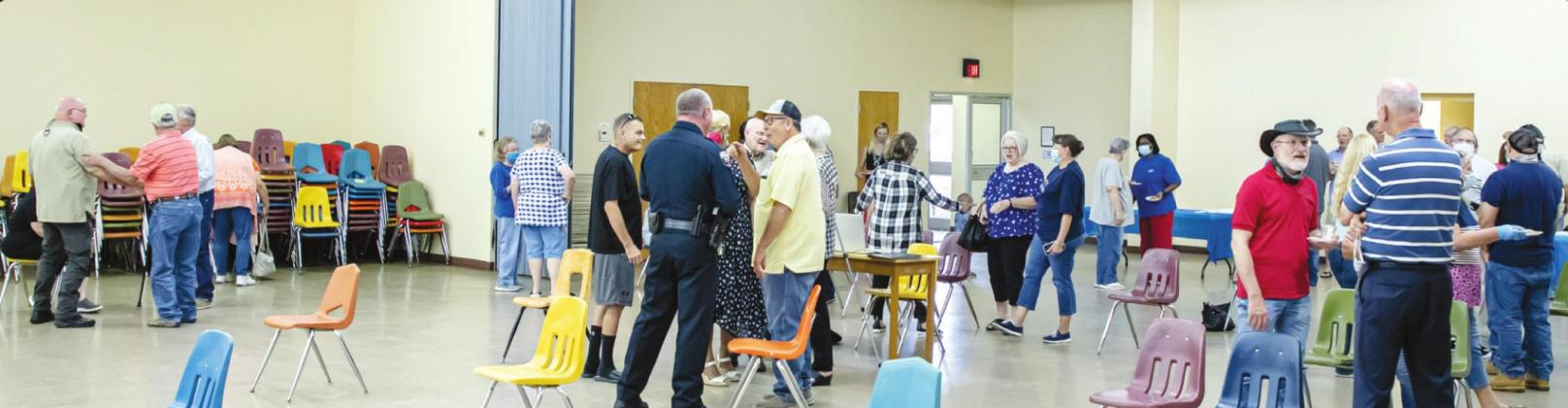 Great Turnout for the City's Meet the Chief, Aug. 18