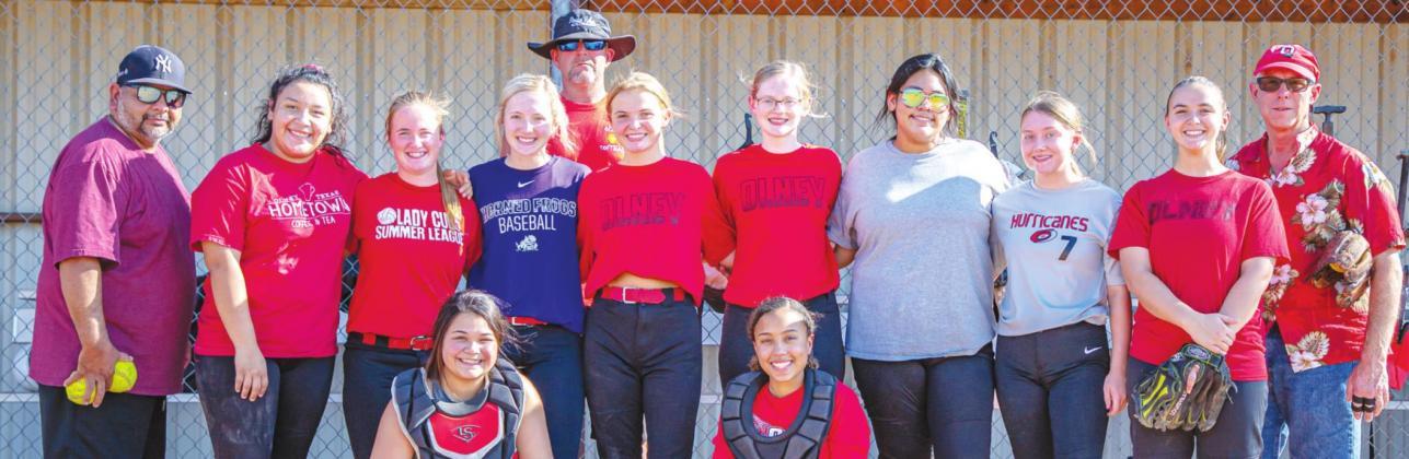 Lady Cub Fall Sunrise Optimist League take the field for practice
