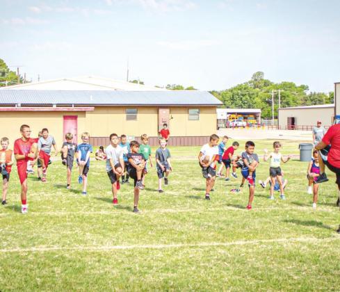Olney Cub Football Camp