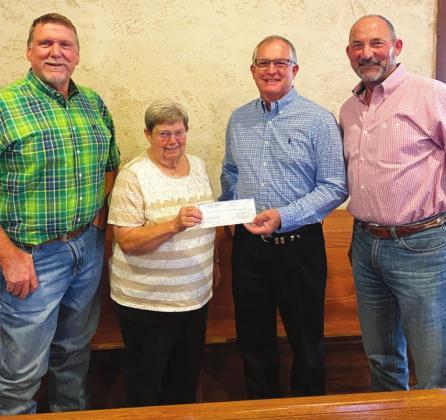 YCFB Donates to Four Agencies