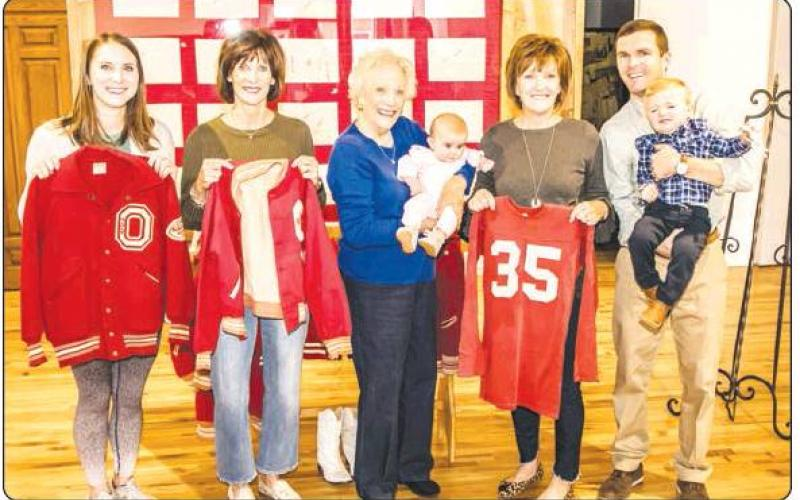 Four generations of Myers visit Olney Heritage Museum