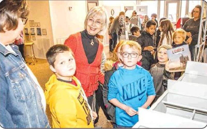 Olney Elementary's fourth-graders visit Olney Heritage Museum