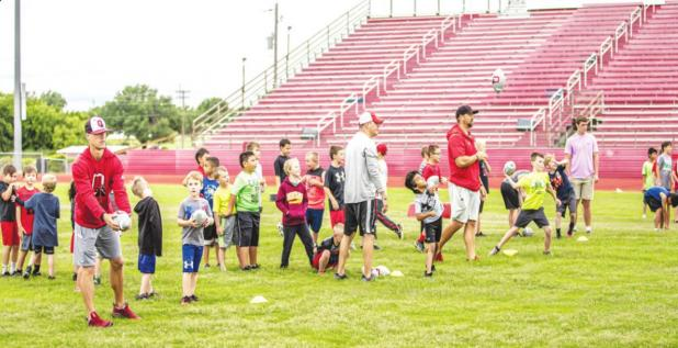 3-day camp helps Little Cubs prepare for a future in football
