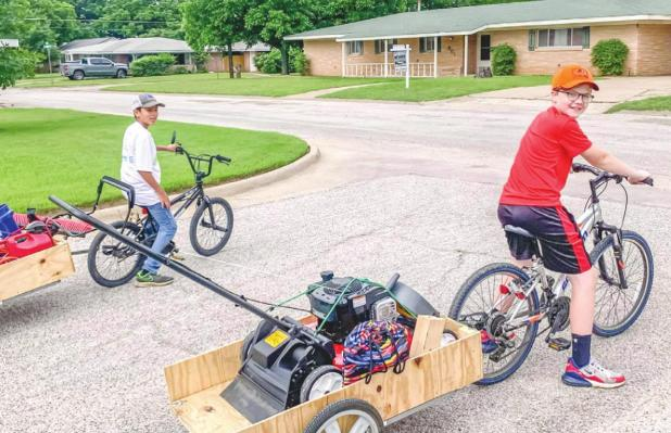 Young Entrepreneurs in Olney: Sawyer Edgington's Lawn Care