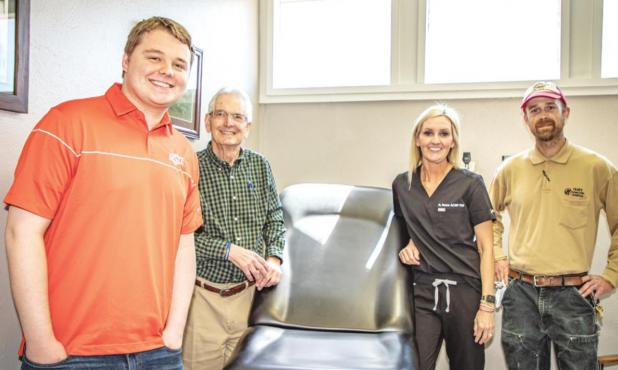 Archer Family Clinic receives exam table donation