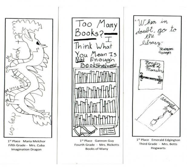 10th Annual Bookmark Contest