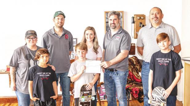 Local Foundation awards grant to Olney Hope for Skatepark