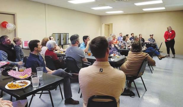 Olney Chamber hosts business luncheon at Sassy Heifer