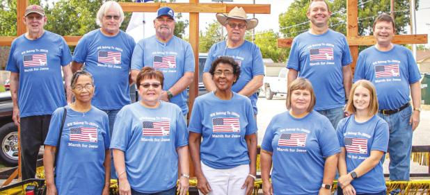 Community Marches for Jesus