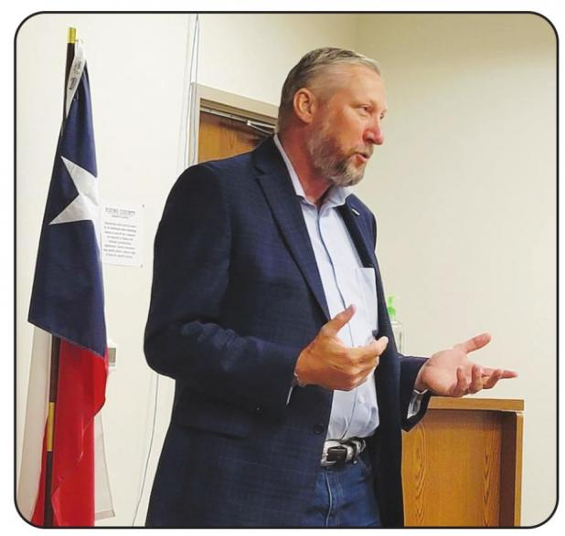 Drew Springer Talks Voting, Pro-life and Constitutional Carry at the Young County Republicans' Town Hall
