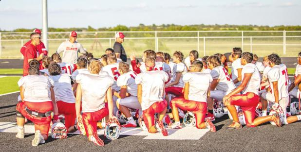 Cubs Football Scrimmages Coach Guy comments on upcoming season
