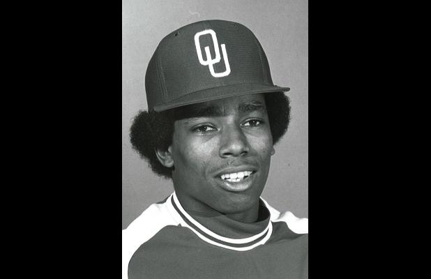 Shown here is Michael Pace of Olney, who was Oklahoma University's first black baseball player.