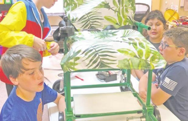 ODCS students build wheelchair