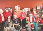 Sr. Cub Center celebrates Christmas with Santa