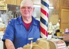 Nunley provides a traditional barber shop experience
