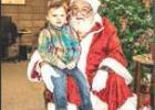 Santa at Olney Library